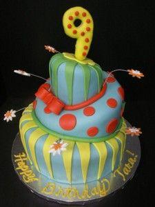 9 Year Old Boy Birthday Cake Ideas Via Rock Star