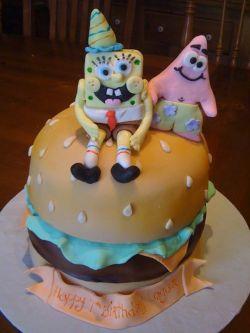 Groovy 12 Spongebob Cakes At Safeway Photo Safeway Bakery Birthday Funny Birthday Cards Online Unhofree Goldxyz