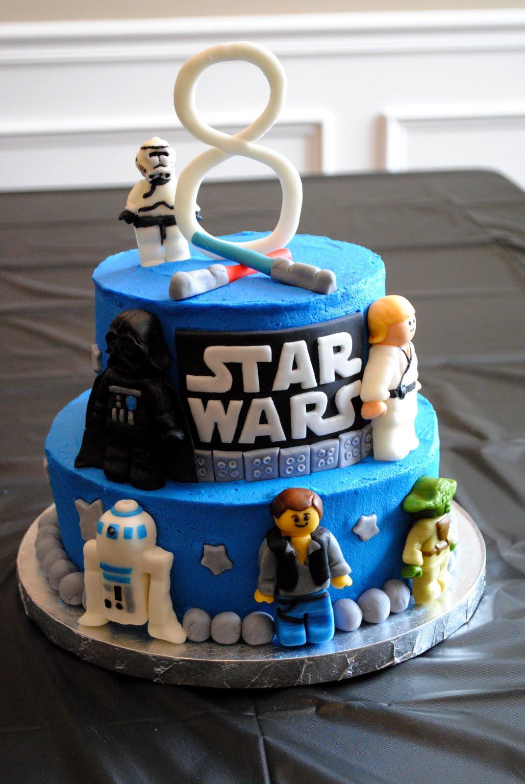 Miraculous 11 Star Wars Lego Cake Cupcakes Photo Star Wars Birthday Cake Funny Birthday Cards Online Overcheapnameinfo