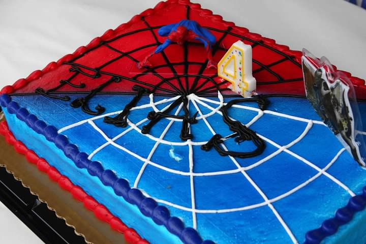 Superhero Cake From Kroger