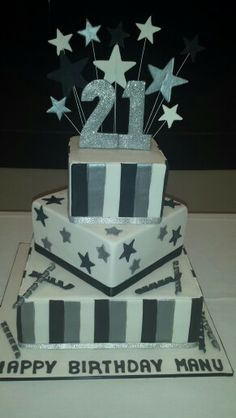 21st Birthday Cake Ideas For Boys
