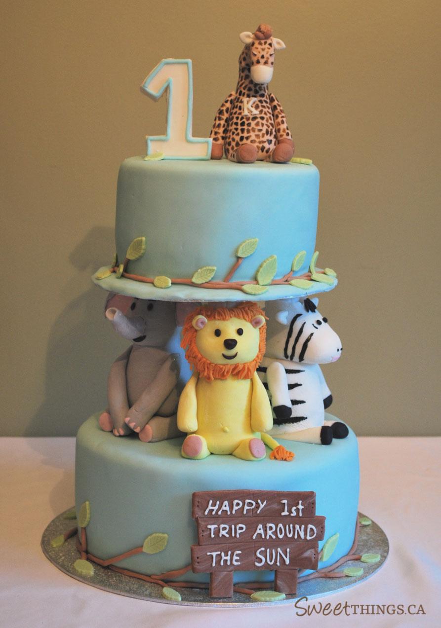 12 First Birthday Cakes For Boys Photo Baby Boy 1st Birthday Cake