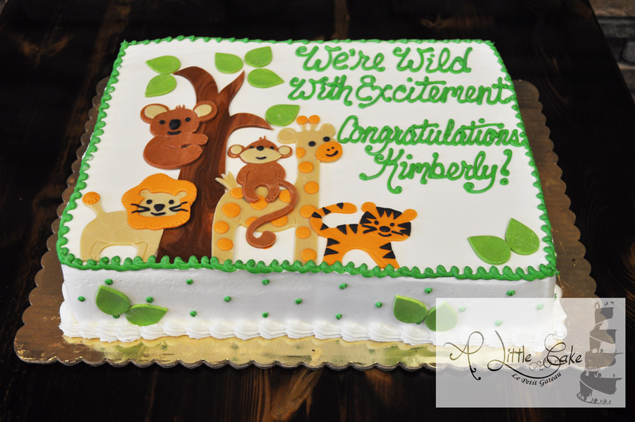 Monkey Baby Shower Sheet Cakes Hobitfullringco