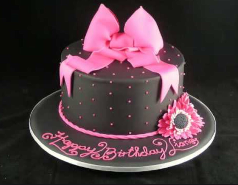 Pleasing 11 Simple Girly Bday Cakes Cool Photo Simple Girly Birthday Cake Personalised Birthday Cards Paralily Jamesorg