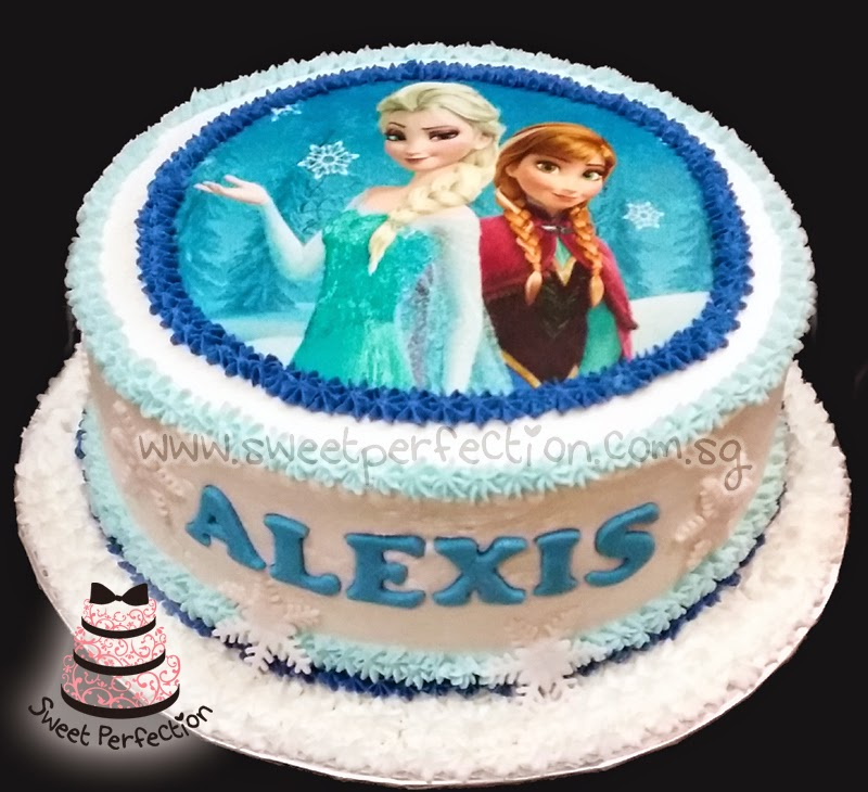 Birthday Cake Frozen Anna Elsa