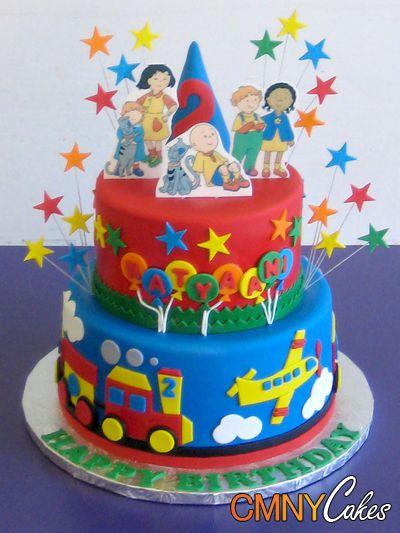 Peachy 8 Caillou Boy Cakes Photo Caillou Birthday Cake Caillou Funny Birthday Cards Online Alyptdamsfinfo