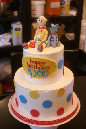 Pleasing 8 Caillou Boy Cakes Photo Caillou Birthday Cake Caillou Funny Birthday Cards Online Bapapcheapnameinfo