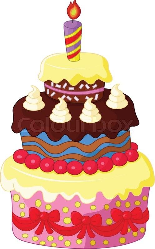 10 Photos Of Square Cartoon Birthday Cakes