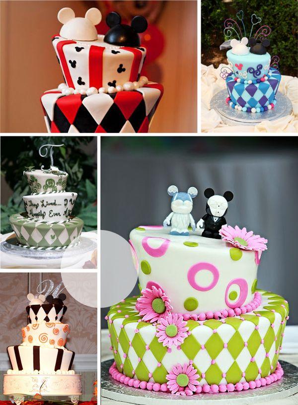 11 Disney Wedding Cakes Mad Hatter Photo - Disney Mad Hatter Wedding ...