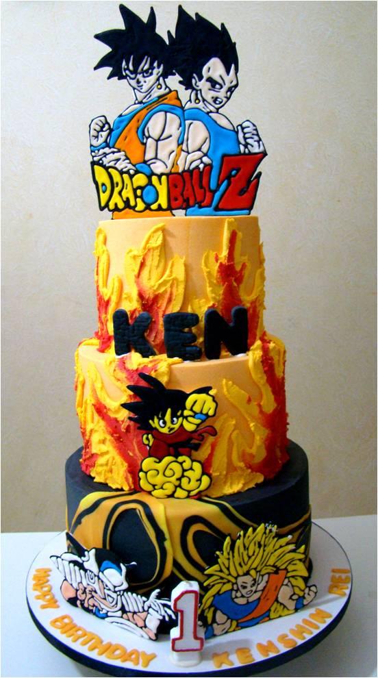 11 Dragon Ball Z Birthday Cupcakes Photo Dragon Ball Z Birthday