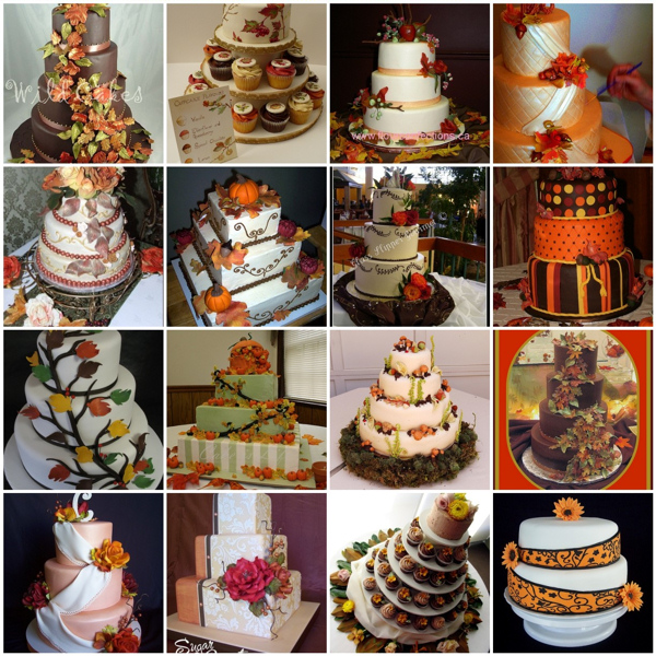 7 Ideas For Autumn Wedding Cakes Photo - Fall Wedding Cake Ideas ...