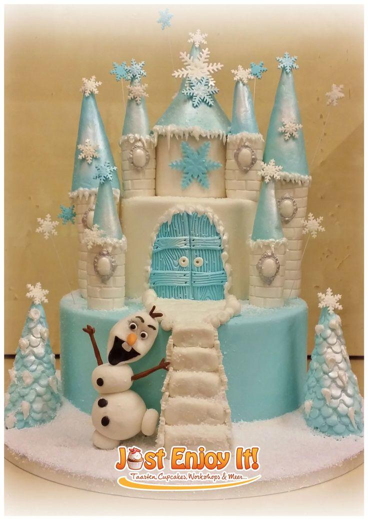 Magnificent 8 Frozen Castle Cakes Fondant Photo Frozen Castle Cake Frozen Funny Birthday Cards Online Aeocydamsfinfo