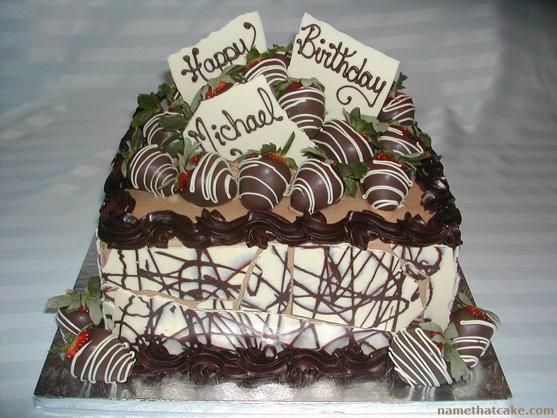 11 Happy 18th Birthday Michael Cakes With Cars Photo Happy