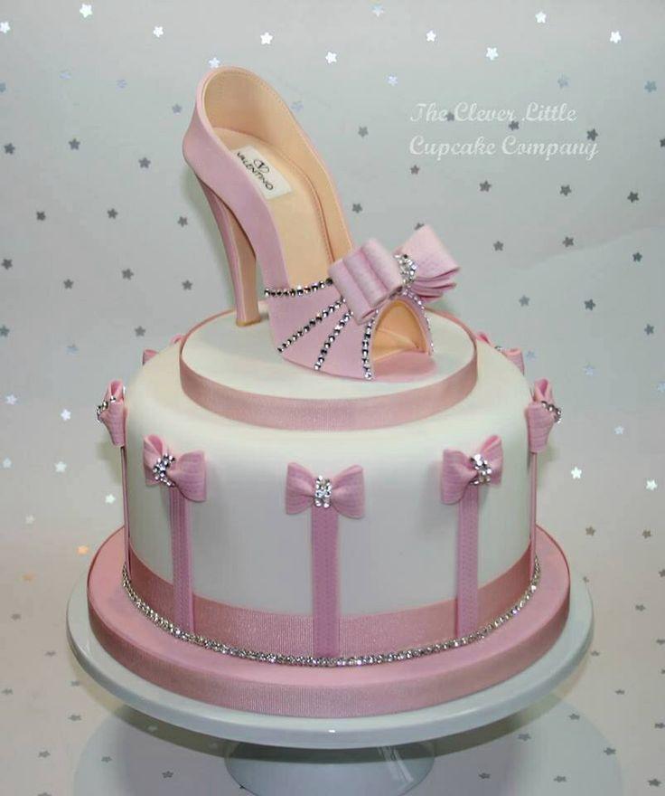 12 Beautiful High Heel Birthday Cakes Photo High Heel Shoe