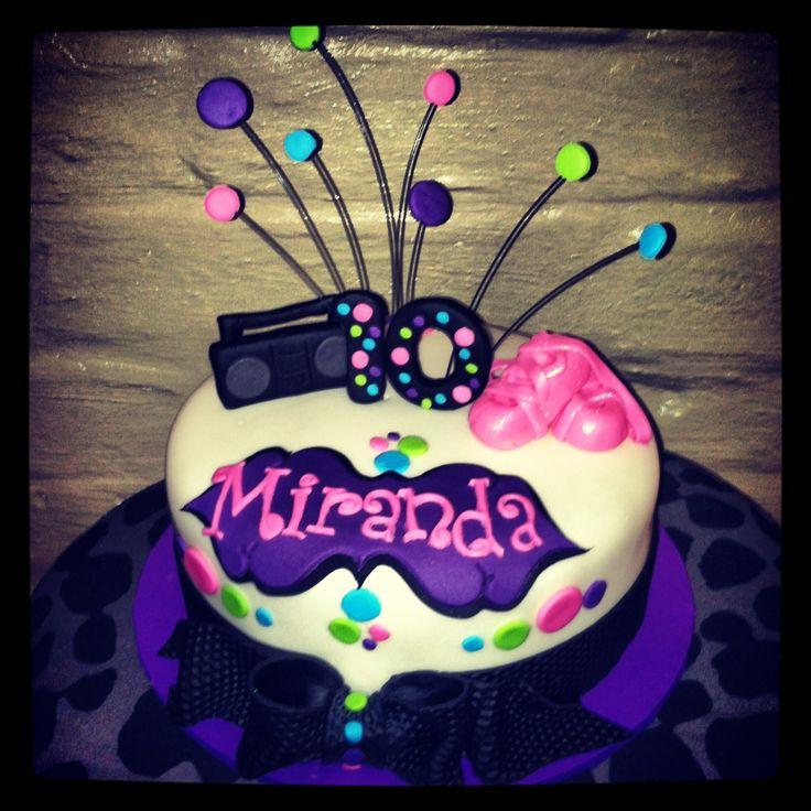 Prime 10 Hip Hop Dance Birthday Cakes Photo Hip Hop Dance Birthday Funny Birthday Cards Online Inifodamsfinfo