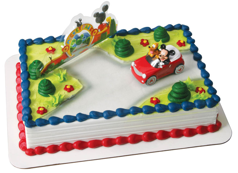 Mickey Mouse Clubhouse Sheet Cake Walmart