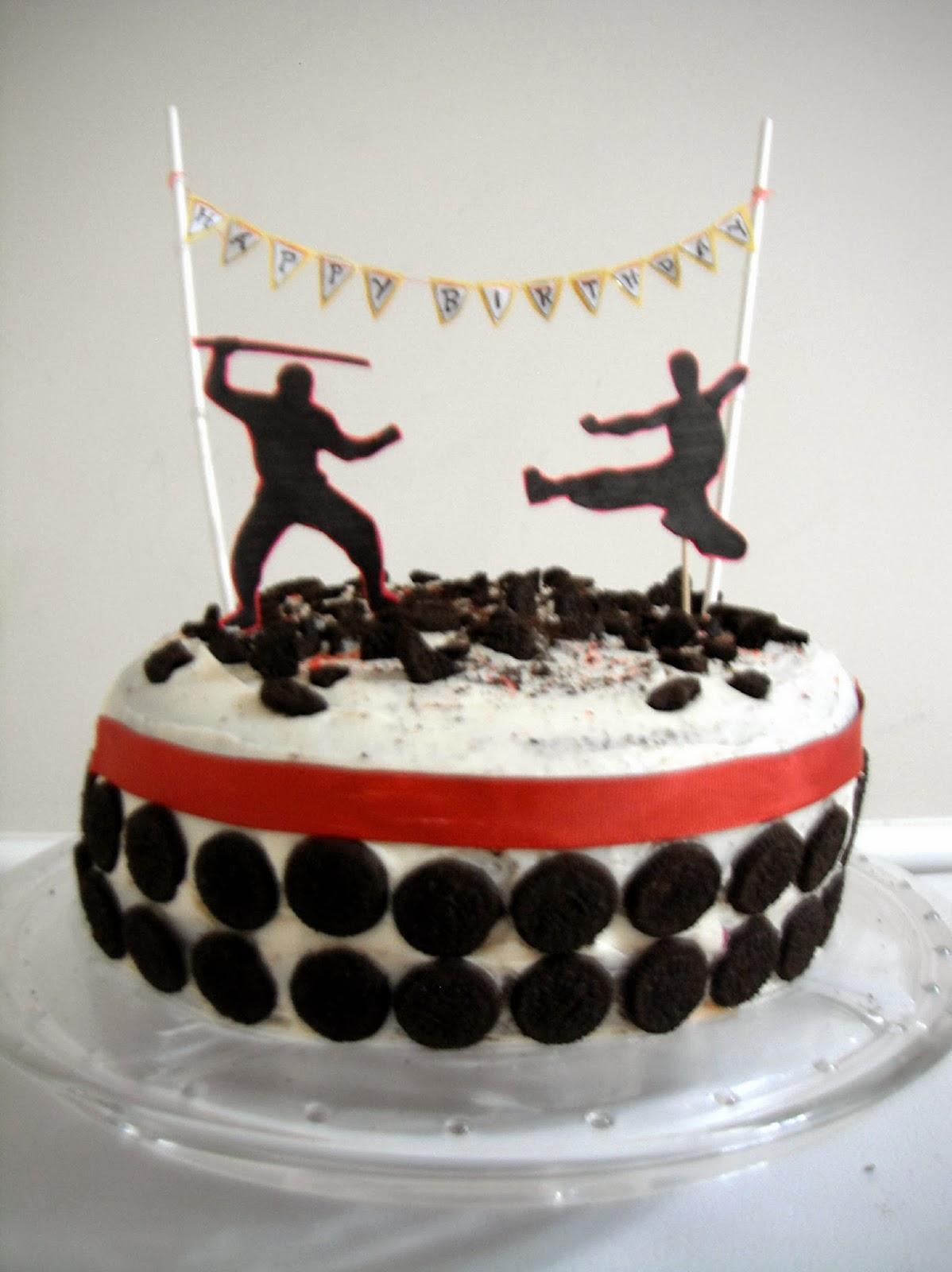 12 Ninja Birthday Cupcakes Photo Ninja Birthday Party Cupcakes