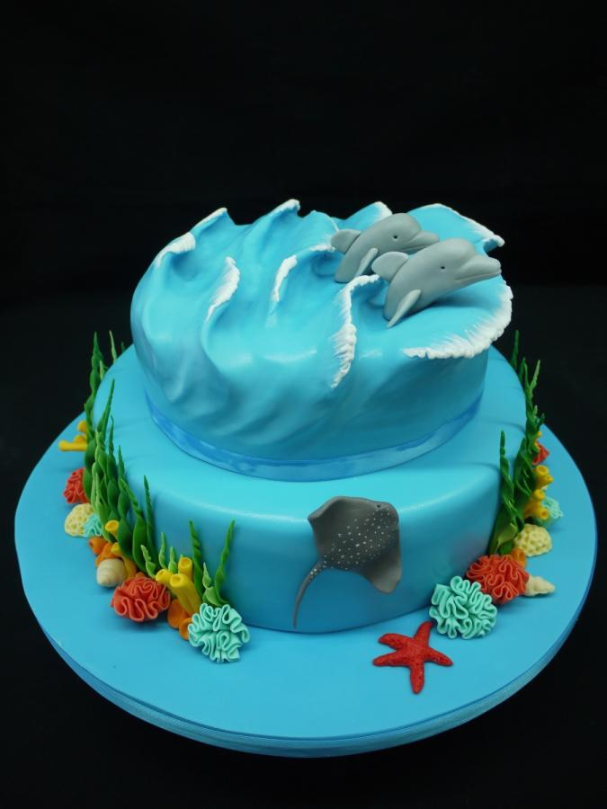 10 Ocean Themed Birthday Cakes Photo