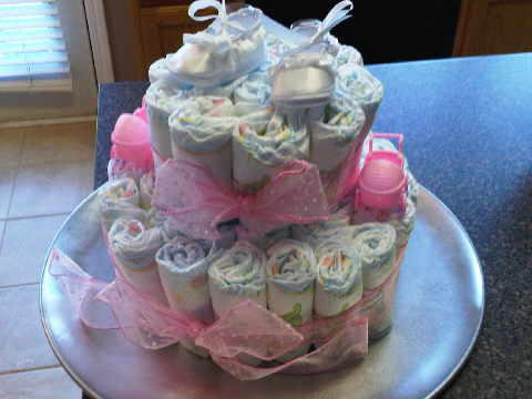 11 Pampers Baby Shower Cakes That Look Like Photo Pamper Baby
