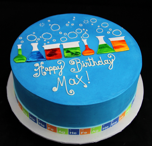 Magnificent 8 Science Experiment Birthday Cakes Photo Science Birthday Cake Funny Birthday Cards Online Elaedamsfinfo