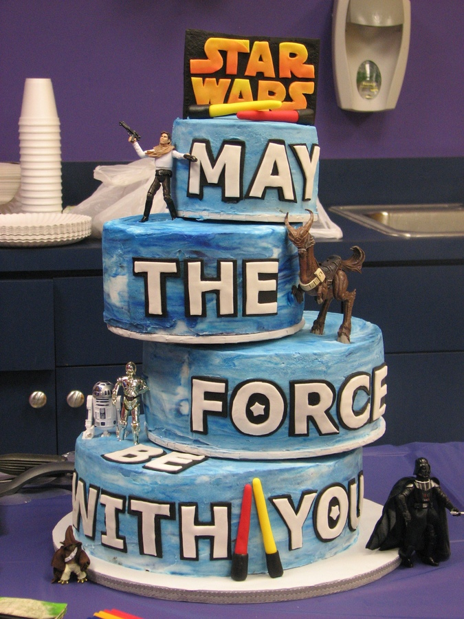 Phenomenal 8 Cake Wars Birthday Cakes Photo Lego Star Wars Cake Ideas Star Birthday Cards Printable Riciscafe Filternl