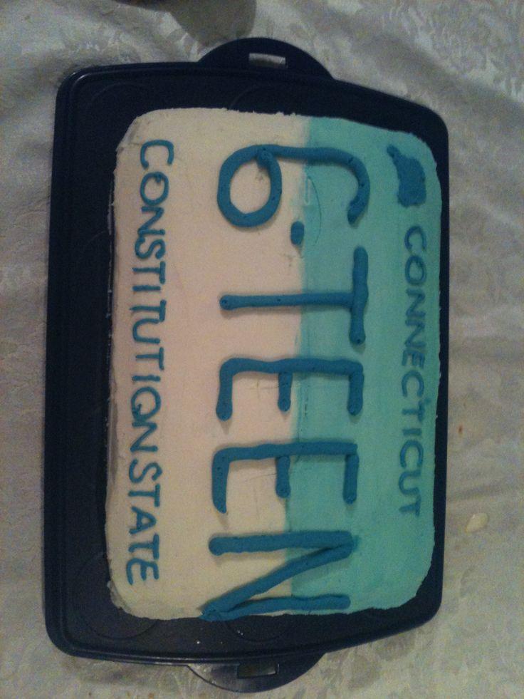 7 Sweet Sixteen Birthday Cakes For Boys Photo Blue 16th Birthday