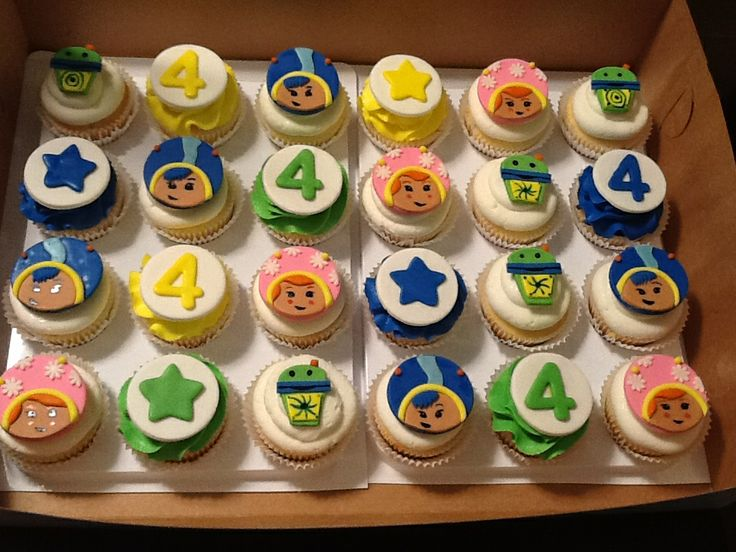 11 Team Umizoomi Cake Cupcakes Photo Cupcake Ideas Birthday Party