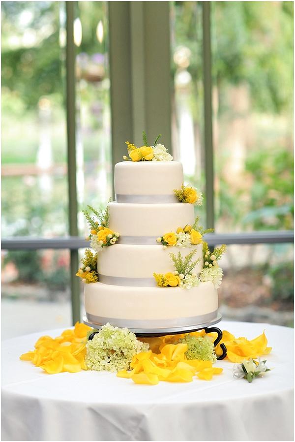 12 White Grey And Yellow Wedding Cakes Photo - Grey and Yellow ...