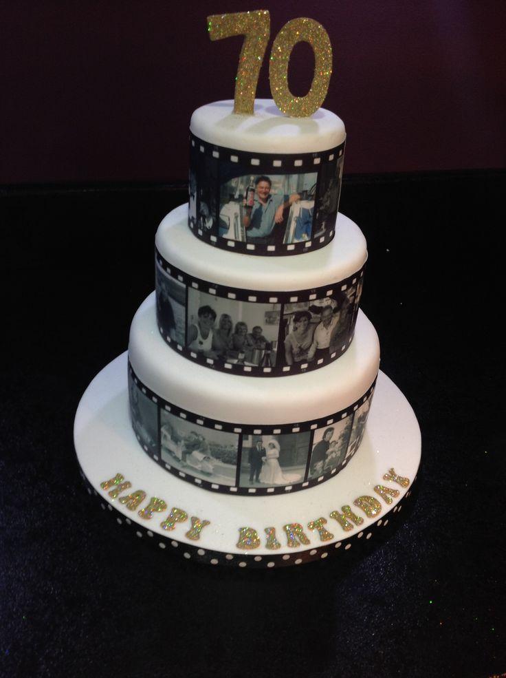 9 70 Year Birthday Cakes Photo 70th Birthday Cake 70th Birthday
