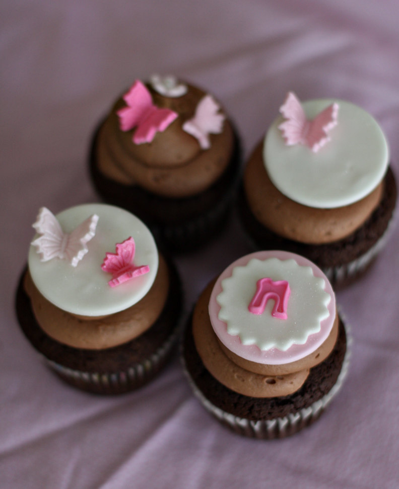 11 Baby Shower Cupcakes Without Fondant Photo Baby Shower Fondant