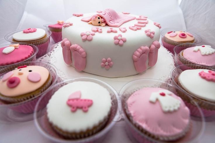 6 Pastel De Cupcakes Para Baby Shower Photo Baby Shower Pull Apart