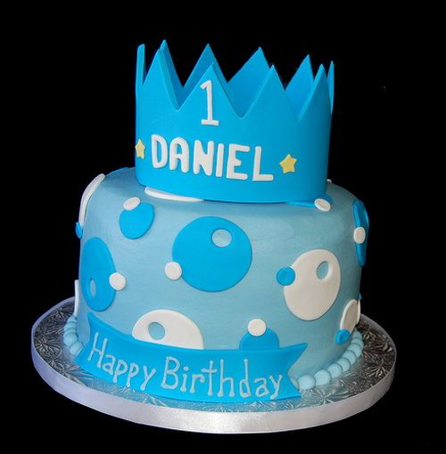 Superb 8 First Birthday Cakes For Boys With Crown Photo Boys 1St Funny Birthday Cards Online Chimdamsfinfo