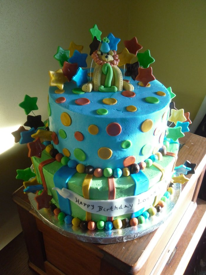 11 Boys Birth Day Cakes Photo Happy 1st Birthday Boy Cake Boy