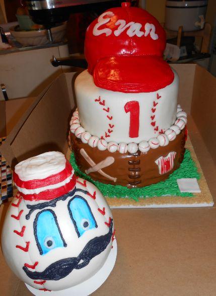 Outstanding 10 Birthday Cakes Cincinnati Ohio Photo Cincinnati Reds Baseball Personalised Birthday Cards Veneteletsinfo