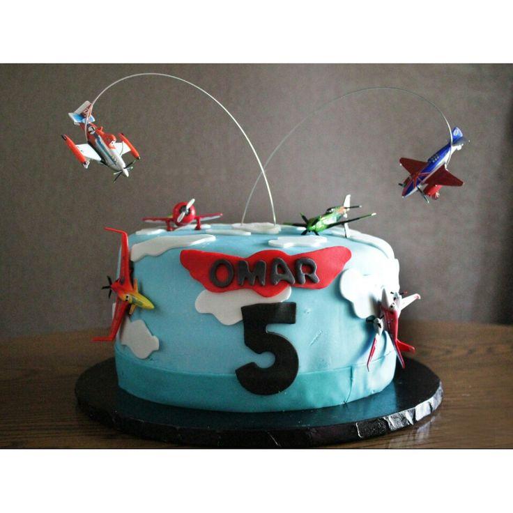 12 Airplane Birthday Cakes Disney Photo