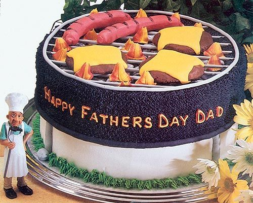 5 Photos of Father's Day Grill Cakes