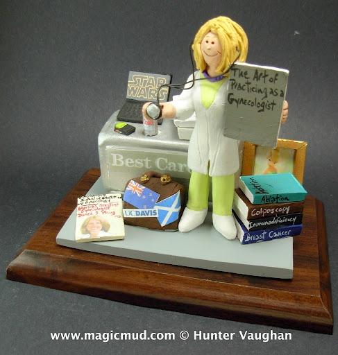 Female Doctor Birthday Cake