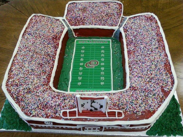13 Cool Soccer Stadium Cakes Photo Birthday Cake Football Stadium