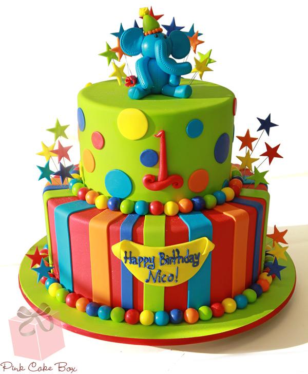 Marvelous 11 Boys Birth Day Cakes Photo Happy 1St Birthday Boy Cake Boy Funny Birthday Cards Online Hetedamsfinfo