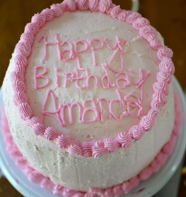 10 Amanda Birthday Cupcakes Photo Happy Birthday Amanda Cake