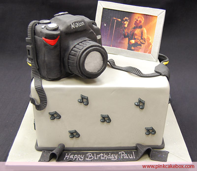 Remarkable 11 Camera Themed Birthday Cakes Photo Camera Cake Camera Themed Funny Birthday Cards Online Barepcheapnameinfo