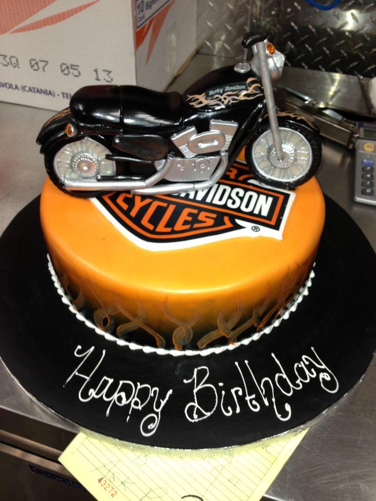 Sensational 11 Motorcycle Birthday Cakes For Men Photo Happy Birthday Funny Birthday Cards Online Alyptdamsfinfo