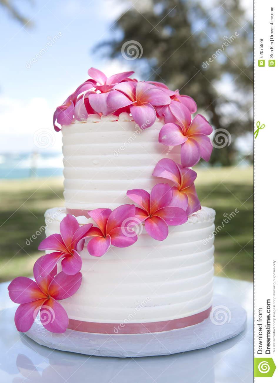 13 Hawaii Flower Cakes Photo - Hawaiian Wedding Cake with Flowers ...