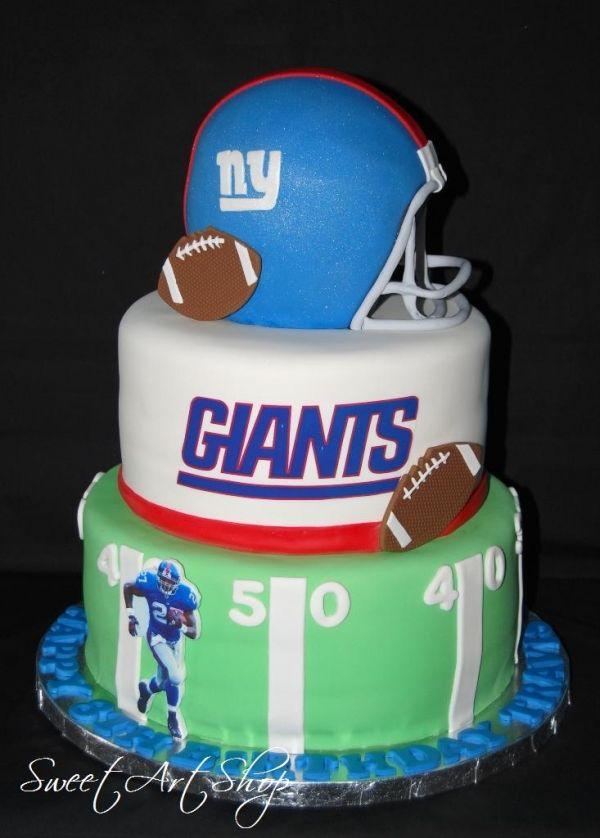 Pleasing 13 Wedding Cakes Ny Giants Photo Ny Giants Happy Birthday Cake Funny Birthday Cards Online Inifofree Goldxyz