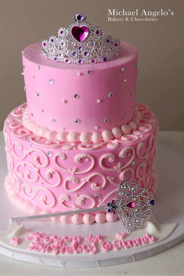 Pink Princess Birthday Cake Ideas