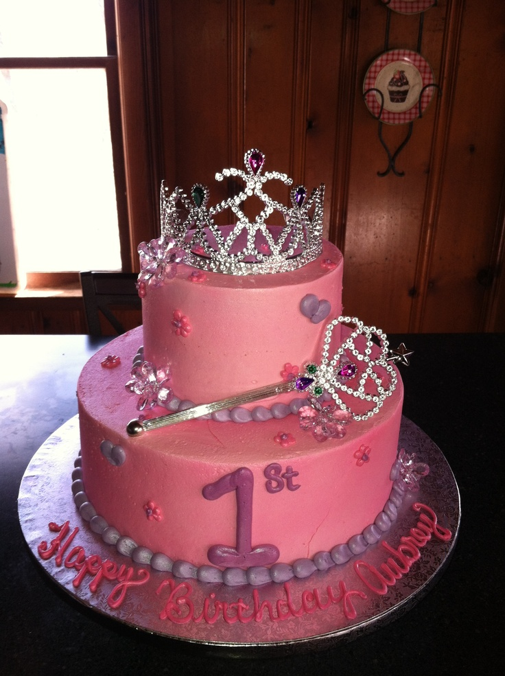 Incredible 12 Princess First Birthday Cakes Photo Princess First Birthday Personalised Birthday Cards Veneteletsinfo