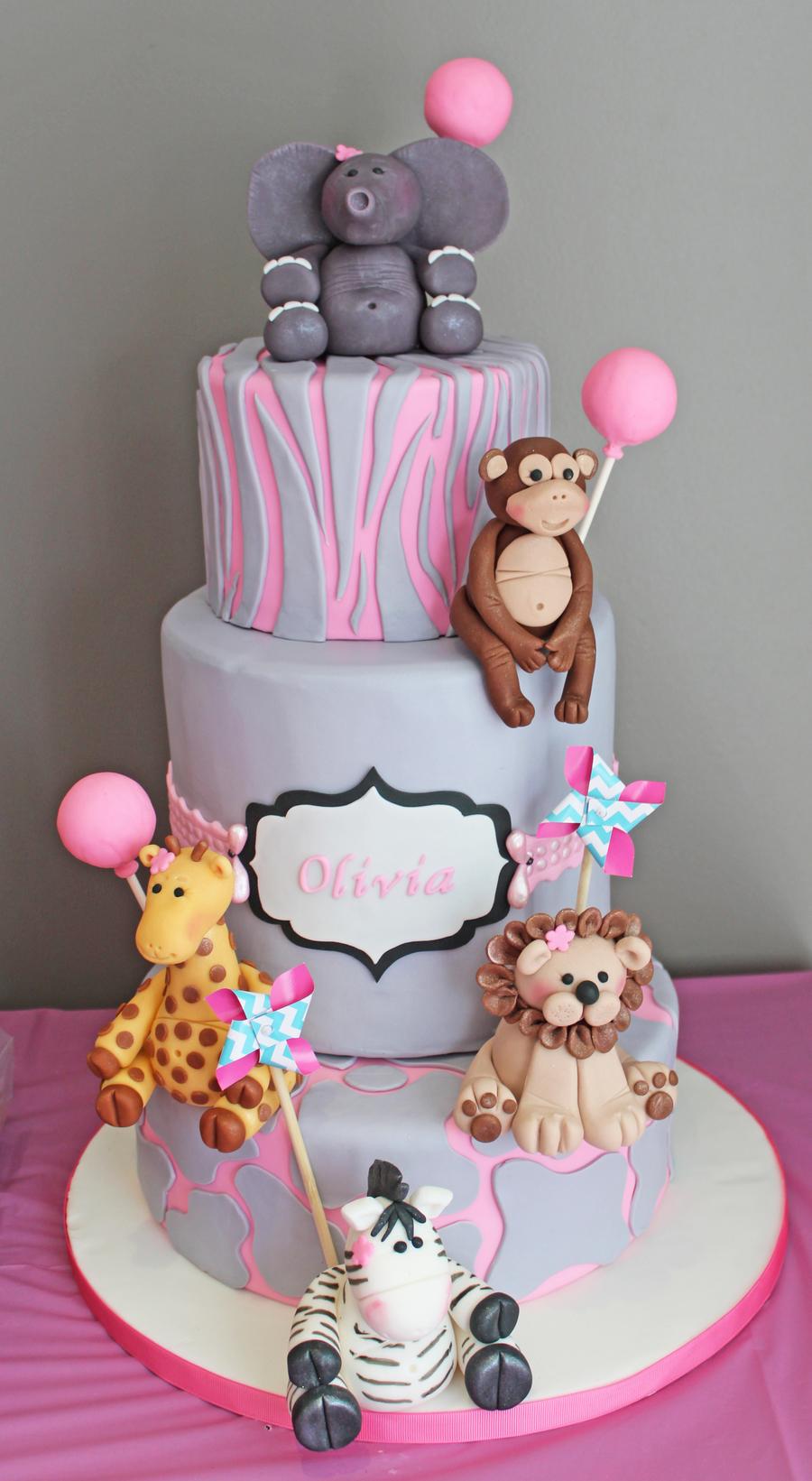Awe Inspiring 12 Girly First Birthday Cakes Photo 1St Birthday Cake Ideas For Personalised Birthday Cards Veneteletsinfo