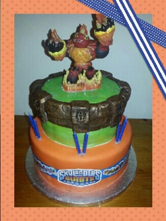12 Skylanders Giants Birthday Cakes Photo Skylanders Giants