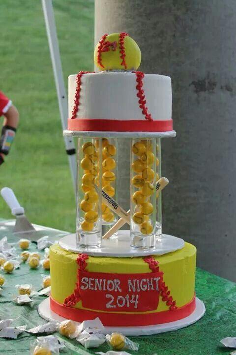 11 Cool Softball Cakes And Cake Photo Softball Birthday Cake Ideas