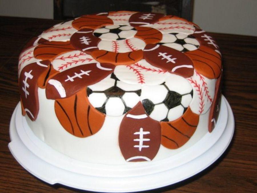 Stupendous 11 All Sports Birthday Cupcakes Photo Sports Birthday Cake Ideas Funny Birthday Cards Online Bapapcheapnameinfo